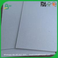 China Hard stiffness 600gsm 550gsm 400gsm paper double side gray board wholesale