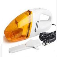 China Orange Auto Vacuum Handheld Car Vacuum Cleaner Dc12v With Washable Filter wholesale