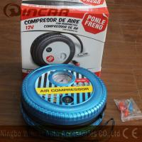 China DC 12V Portable Air Compressor / Tire Air Compressor Ningbo Wincar wholesale