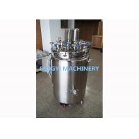 China 200-350L Capacity Stainless Steel Storage Tanks SS316L / SS3004 Material on sale