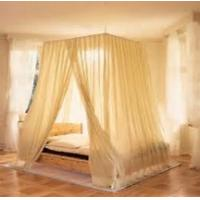 Quality emf protection bed canopies fabric silver mesh in light grey color 22DB for sale