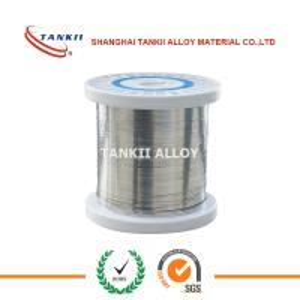 China Nichrome 80 20 Flat Wire Nicr Alloy Ni80Cr20 Nichrome Ribbon Wire wholesale