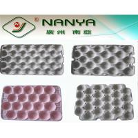 Buy cheap Customized Fruit Tray Pulp Moulded Products support Straw / Wood pulp from wholesalers