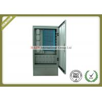 China 288 Cores Outdoor Fiber Distribution Cabinet SMC Material Anti - Erosion High Intensity wholesale