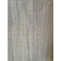 China Printed Grey Wood Grain Decorative Paper Surface Abrasion Resistance 500kg / Roll wholesale