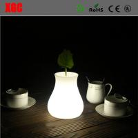 China Eco-Friendly Material Coffee Shop Indoor LED Decoration Small Vase Shape Lamp wholesale