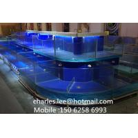 China Professional Shop Box Fish Table Customized 1000 X 1000X 850 mm wholesale