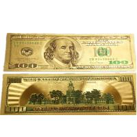 China Gold Limited Edition US $100 Banknote Bill wholesale