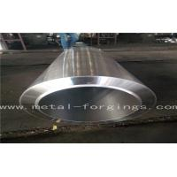 China EN10222-2 P280GH 1.0426  Carbon Steel metal sleeves Forged Cylinder  Normalized Q + T Proof Machined wholesale