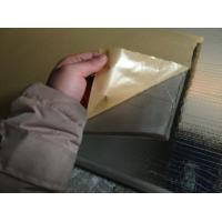 Fire Resistant Adhesive : Flame retardant self adhesive foam rubber strips with