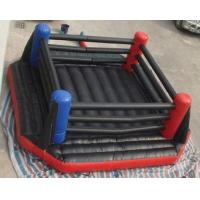 China Black Inflatable Amusement Park Gladiator Duel Ring , Inflatable Sport Games on sale