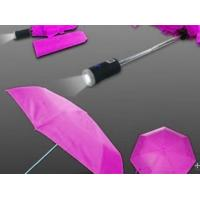 China 21 x 8k 190T Pongee Fabric Flashlight Umbrella With Plastic Tips, End Cap wholesale