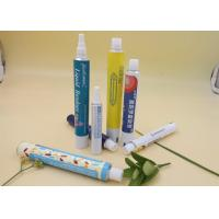 China Printing Aluminum Squeeze Tubes For Cream / Gel Packaging 30ml Volume wholesale
