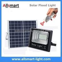 Buy cheap 40W 63LED Solar Flood Lights with Remote Outdoor Solar Light Solar Garden Lamp for Patio Street Parking Lot Playground from wholesalers