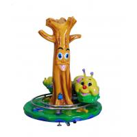 China Coin Operated Fiberglass Amusement Kiddie Rides CE Certificated For Game Center wholesale