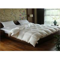 China White Goose Feather Duck Down Quilt Duvet Cotton Covers Exquisite Design Full Size wholesale