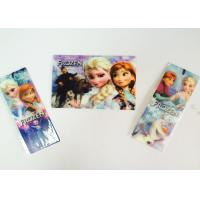 China Childrens Lenticular 3D Lenticular Bookmarks With Tassel 0.6mm PET wholesale