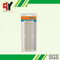 China Transparent Soldered Breadboard Easily Inserted For Building / Testing Circuits wholesale