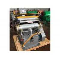 China Semi Automatic Paper Die Cutting Machine High Strength With Electrical System wholesale