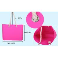 China 2014 Fashion Silicone Beach bag, Shoulder bag with various color wholesale
