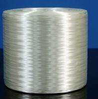 China PP PBT White E Glass Direct Roving 130mm Stiffness Thermoplastic Yarn wholesale
