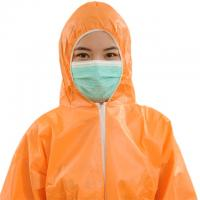 China Waterproof Non Woven Surgical Gown CE Approved With Hood Without Boot wholesale