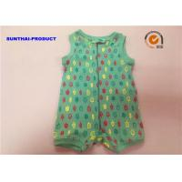 China Ice Cream Print Unisex Baby Rompers , Healthy Infant Pram Suit For Fall / Winter on sale