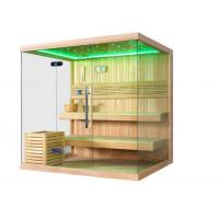 Buy cheap Monalisa M-6041 dry sauna room with Harvia stove European style sauna enclosure from wholesalers