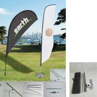 """China 50.8""""W x 157.5""""H outdoor feather banners /  Promotion Feather Flag and teardrop wholesale"""