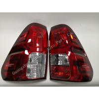 China Plastic Toyota Hilux Revo Parts / Tail Lamp Halogen Type 2015 Model Compatible wholesale