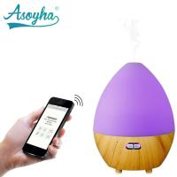China Bluetooth & App Audio Ultrasonic Cool Mist Humidifier Egg Shape With Colorful Lights wholesale