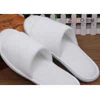 China Terry Material Hotel Disposable Slippers Washable Spa Slippers Customized Size wholesale