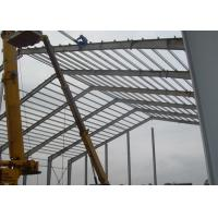 China Lightweight Industrial Steel Structures , Shock Resistant Steel Structure Fabrication With Space Frames wholesale