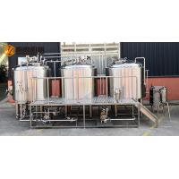 Buy cheap 10 HL Stainless Steel Beer Making Machine Semi Automatic Control With Jacket from wholesalers