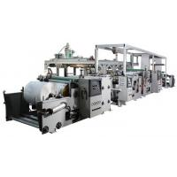 Quality Automatic PP / LDPE Extrusion Film Coating Machine Fast Working Speed for sale