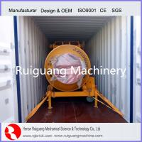 batch concrete mixer non-tilting drum concrete mixer