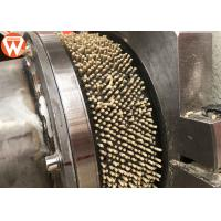Quality High Efficiency Feed Pellet Making Machine 1.5 - 2.5t/H Capacity 22kw Main Motor for sale