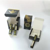 China Child Proof Gift Box Packaging Colored Printed Folding Paper E Cigarette Smoke Oil Bottle wholesale