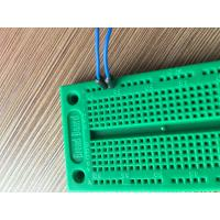 China 700 Tie-points Green Solderless Circuit Board , Prototyping Universal Printed Circuit Board wholesale