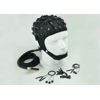 China Customized Channel EEG Skull Cap , Clinical EEG Hat 2 Different Material wholesale