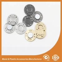 China Fashion Garment Accessories lap Invisible Buttons , Eco Friendly Sewing Buttons wholesale