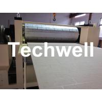 China Pattern Carved Depth 0.4 - 0.7mm MDF Panel Embossing Machine With Speed Frequency Control wholesale