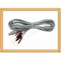 China Din 5 Pin to 2.0 tens unit wires 4 Pin Y Type Medial Tens EMS Cable Lead Wire wholesale