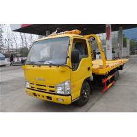 Buy cheap ISUZU 4X2 100HP Wrecker Towing Truck 4.2 Meters Flatbed Accident Recovery Truck from wholesalers