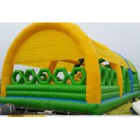 China New Design Commercial Outdoor Children Inflatable Amusement Park with Cover Tent on sale