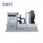 China Coffee Shop Bars Flake Ice Machine / Flake Ice Plant 3 Tons / Day Space Saving wholesale