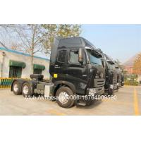 China D10.38 Engine 420HP Prime Mover Truck 6X4 , 12 Wheel Tractor Head Truck wholesale