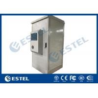 China Assembled Type Galvanized Double Steel Outdoor Telecom Cabinet With Anti-theft Three-point Cabinet Lock wholesale