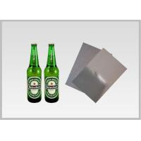 Washable Silver Metallic Paper With Laser Holographic Wood Pulp Material Beer for sale