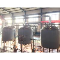 China 10bbl Craft Commercial Beer Brewing Equipment PU Foam Insulation Steam Electrical Heating on sale